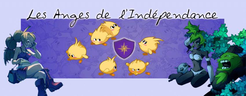 Les anges de l'independance