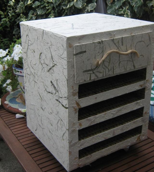 meuble en carton  - Rangement feuilles de scrap Fin_cu13