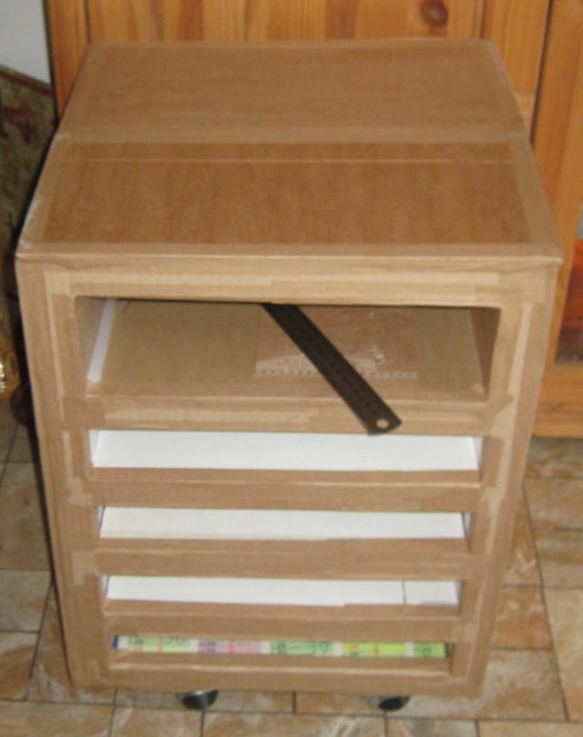 meuble en carton  - Rangement feuilles de scrap Img_0013