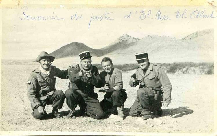 Buste d'un capitaine de la 10 LGMR secteur ALger  vers 1957 2ev3lg10