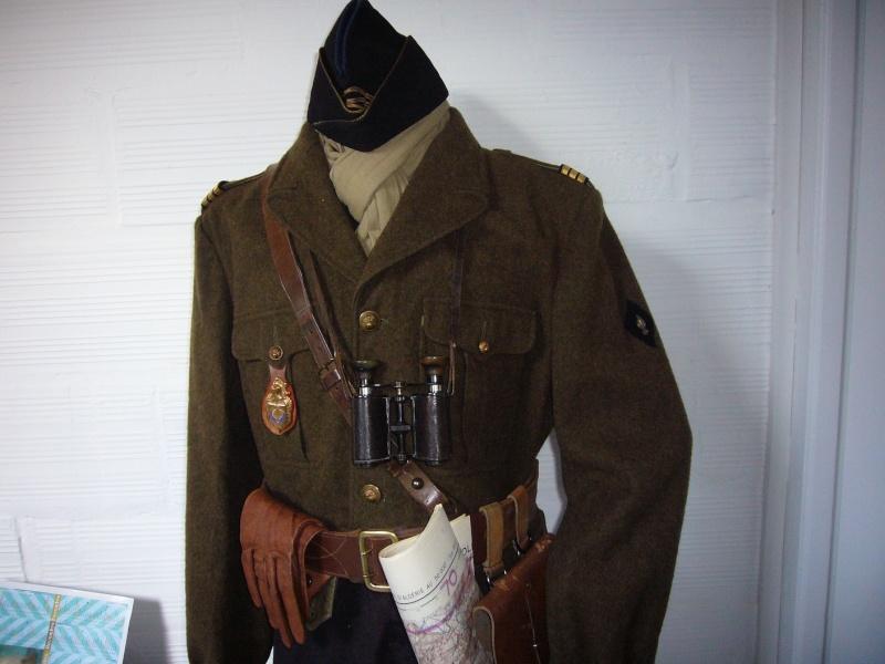 petit buste d'un capitaine de la 10eme LGRM secteur Alger vers 1957 P1050212