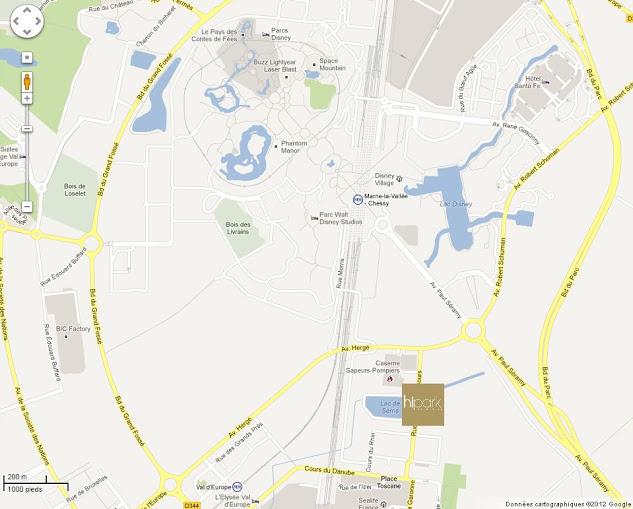 [Hôtel de Proximité] HiPark Résidences - Serris Val d'Europe Maps_h10