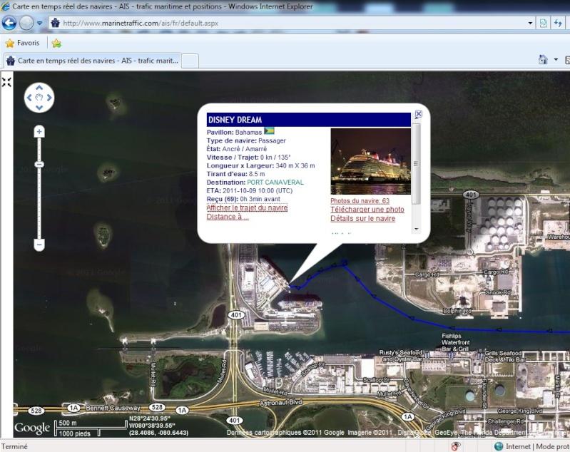 Suivez à la trace les paquebots de la Disney Cruise Line Marine10