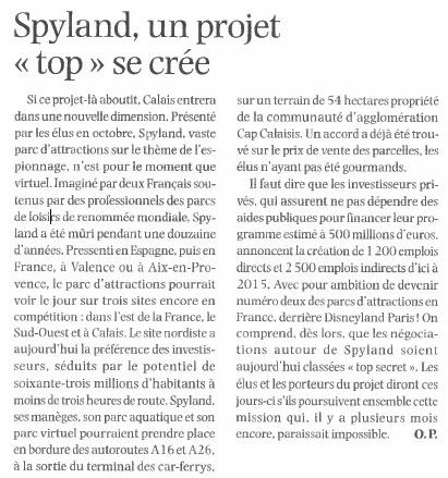 Spyland, le retour... En France? (2016) Nordwa11