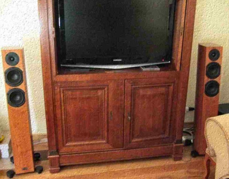 O meus 2 sistemas: Estéreo + Cinema em casa Audiop10