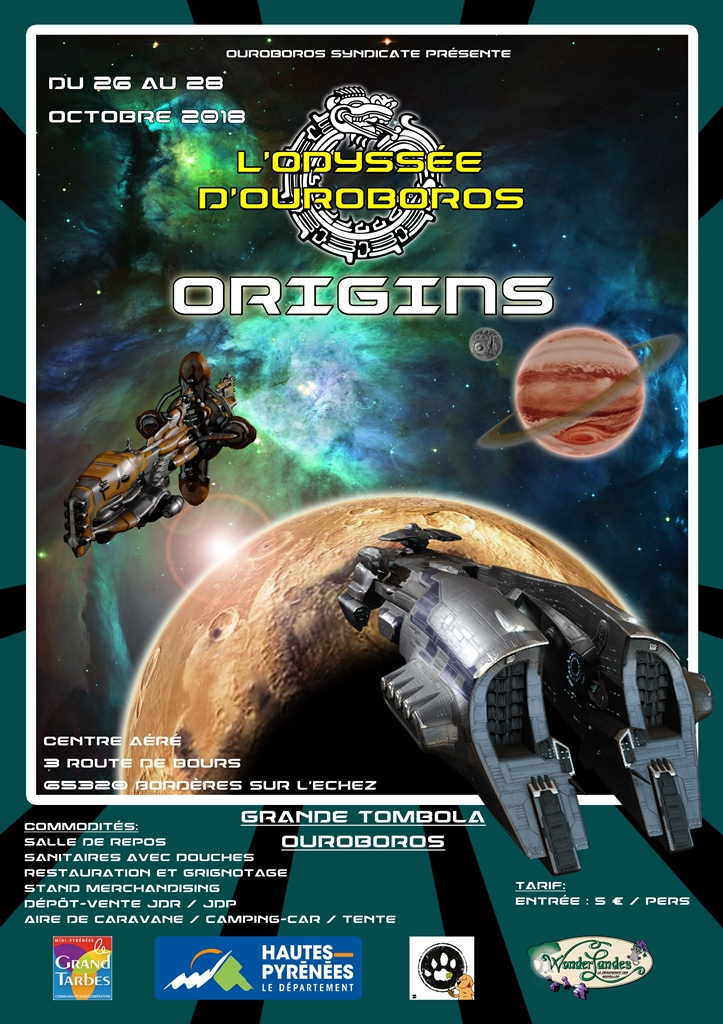 l'Odissey d'Ouroboros : Origins Affich14