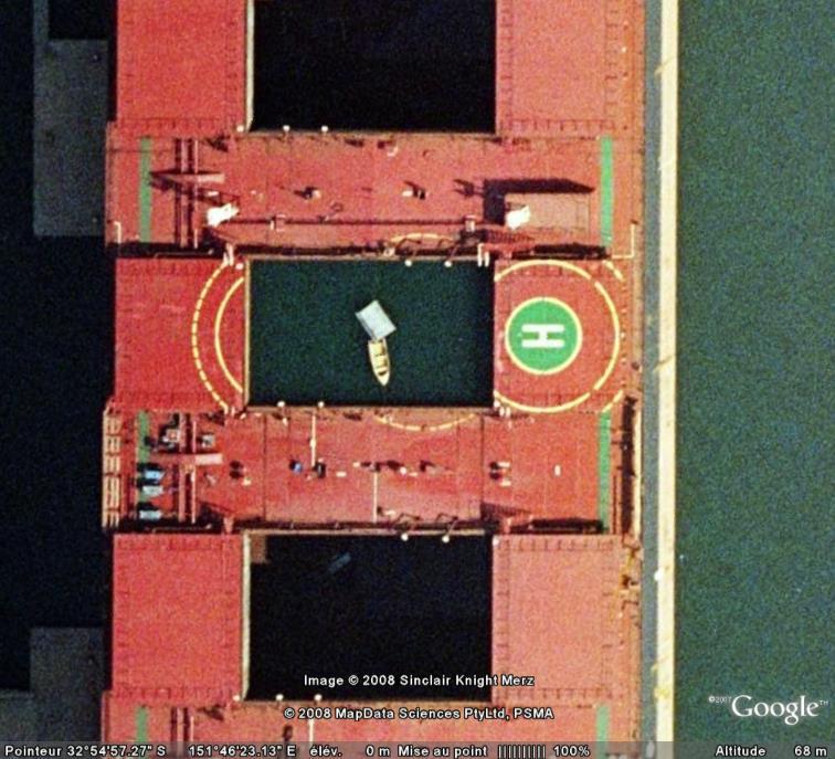 Bateau dans un bateau, Carrington, Australie Bateau10