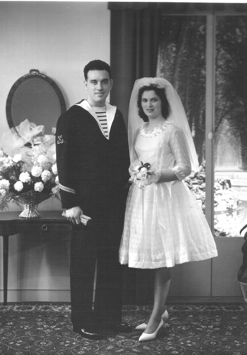 [Les traditions dans la Marine] Mariage en tenue - Page 2 Mariag10