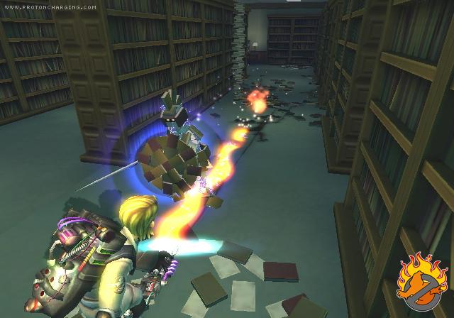 [13/11/09] S.O.S Fantômes: Le Jeu Vidéo (PS2, Wii, DS, PSP) Screen13