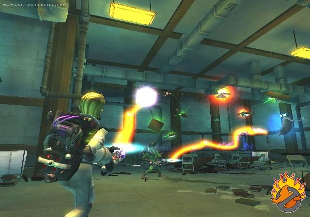 [13/11/09] S.O.S Fantômes: Le Jeu Vidéo (PS2, Wii, DS, PSP) Screen16