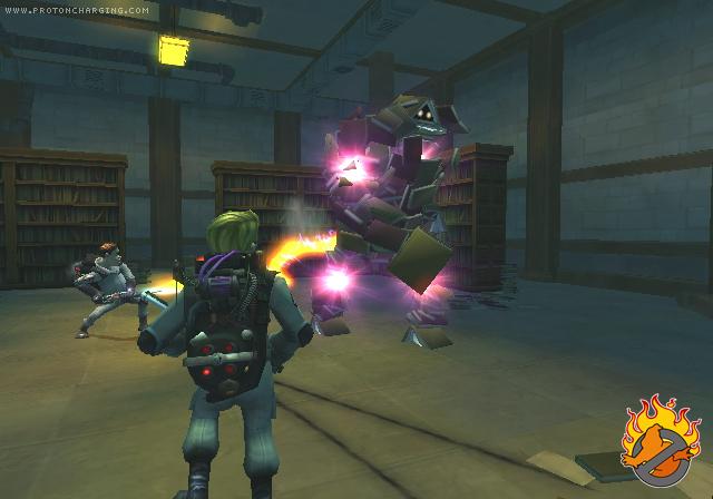 [13/11/09] S.O.S Fantômes: Le Jeu Vidéo (PS2, Wii, DS, PSP) Screen17