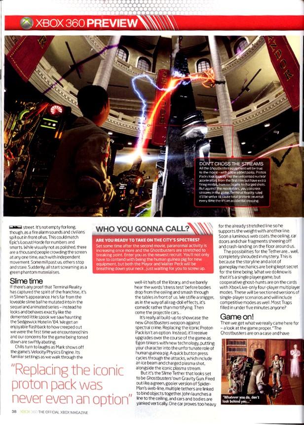 [13/11/09] S.O.S Fantômes: Le Jeu Vidéo (PS3, Xbox 360, PC) - Page 6 Xbox3612