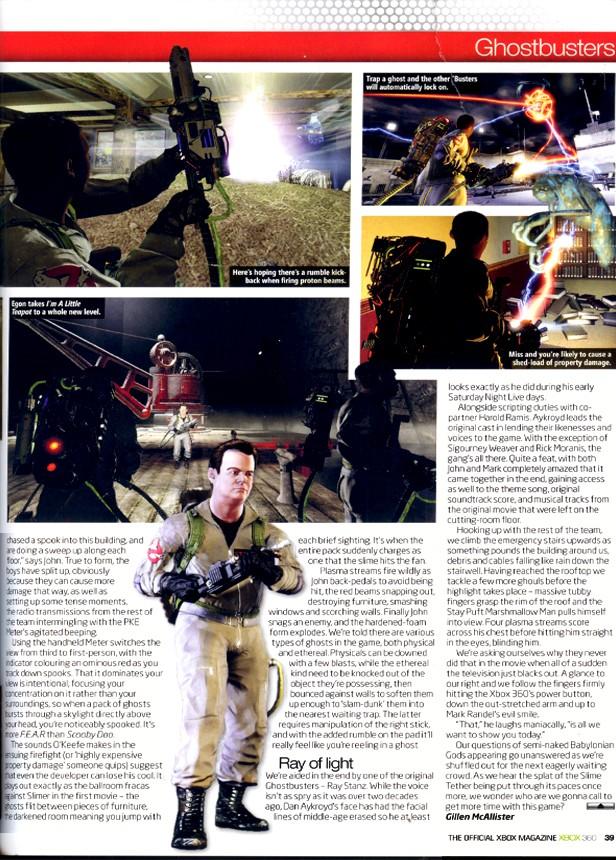 [13/11/09] S.O.S Fantômes: Le Jeu Vidéo (PS3, Xbox 360, PC) - Page 6 Xbox3613