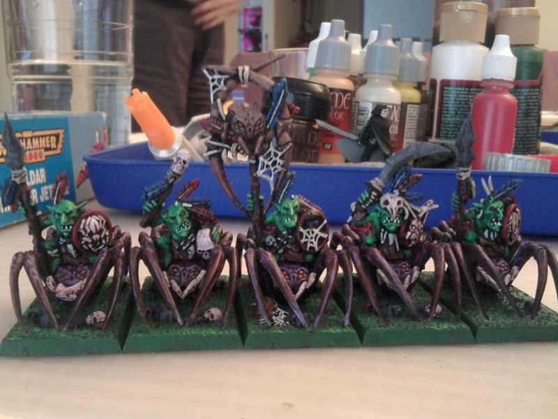Arkeros Goblins, jinetes de araña y mi genorme gigante 2011-112