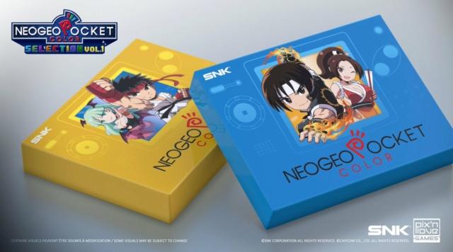 Neogeo Pocket Color Selection Vol.1 sur Switch Ezgo-p10