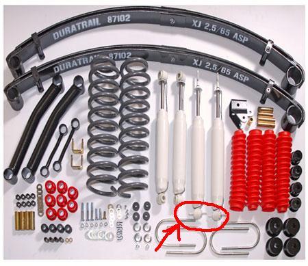 kit complet suspension Kit_2_11