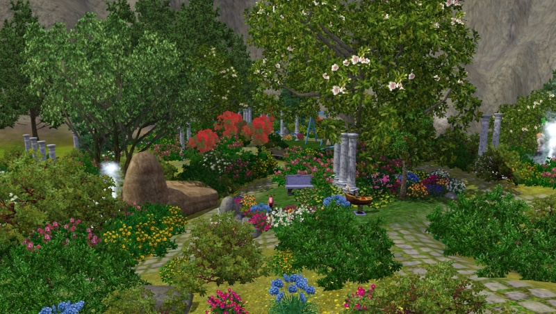[Créastion Diverses] Le jardin d'OpenHappiness Scree131
