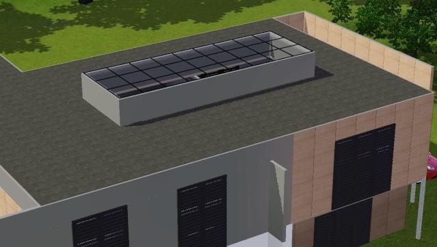 [Apprenti]Créer une ouverture dans un toit moderne. Scree398