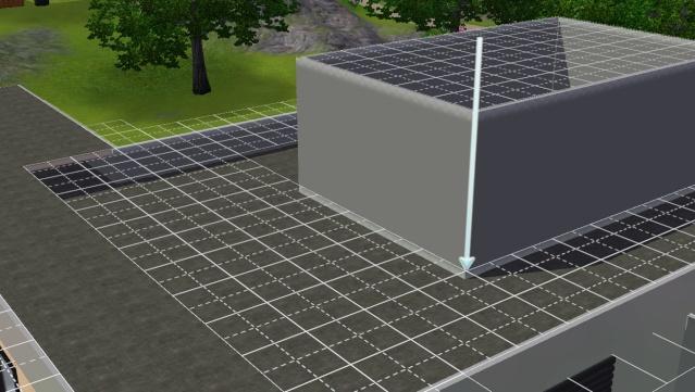 [Apprenti]Créer une ouverture dans un toit moderne. Scree400
