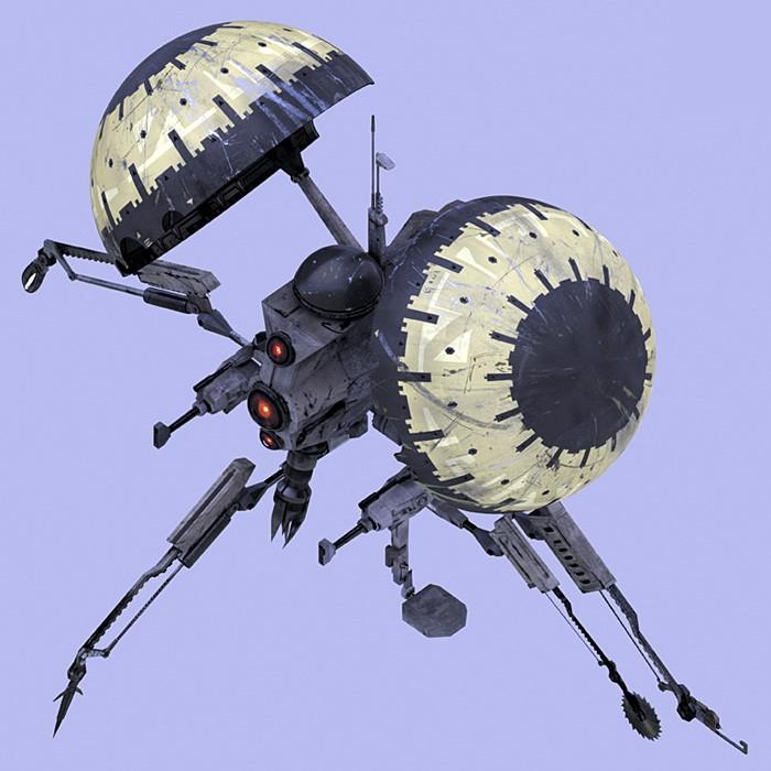 Pistoeka Sabotage Droid Buzzdr10