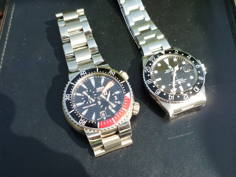 Camping et montres ce week-end… 1210