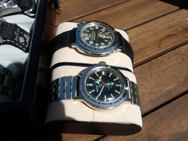 Camping et montres ce week-end… 412