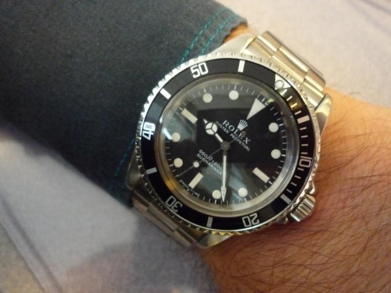 (ECHANGEE !) Rolex 5513 438