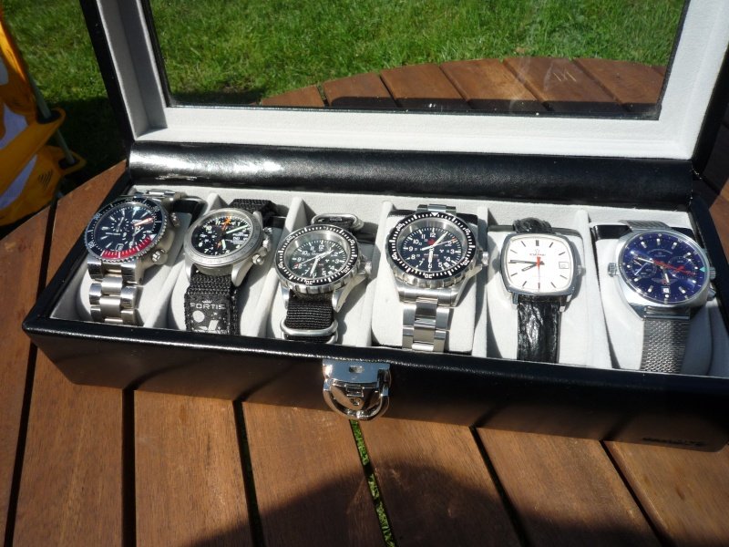 Camping et montres ce week-end… 613