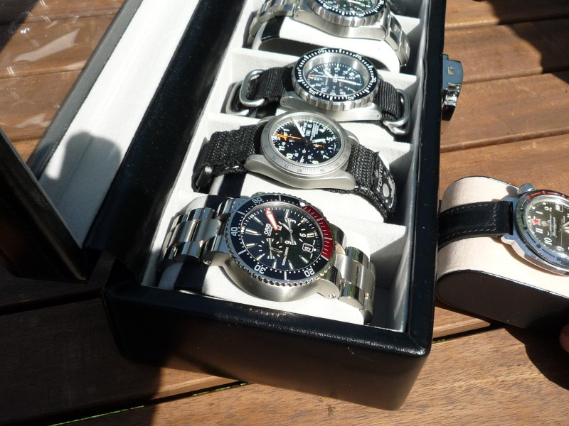 Camping et montres ce week-end… 711