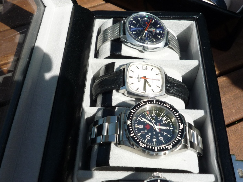 Camping et montres ce week-end… 910