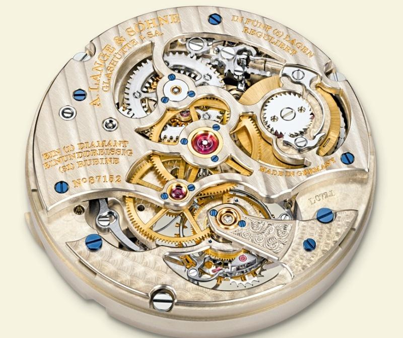 Les plus beaux calibres de montres mécaniques vintages et contemporains du monde ... Lange_10