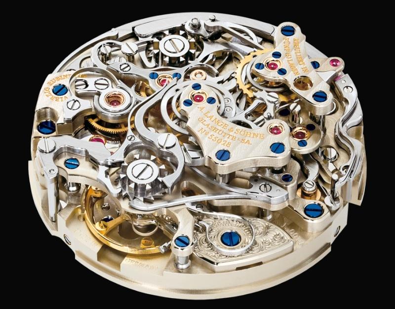 Les plus beaux calibres de montres mécaniques vintages et contemporains du monde ... Lange_11