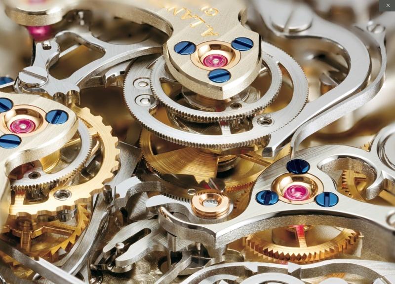 Les plus beaux calibres de montres mécaniques vintages et contemporains du monde ... Lange_12
