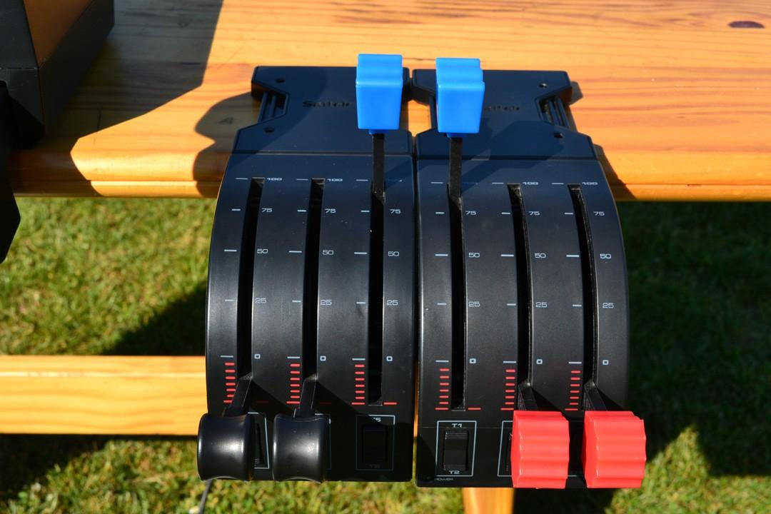 [VDS] Yoke Saitek + Throttle + Rudder Yoke_510