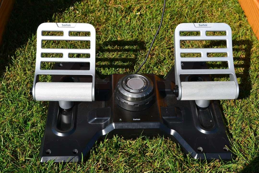 [VDS] Yoke Saitek + Throttle + Rudder Yoke_710
