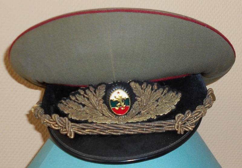casquette de service generale bulgare Ensemb13