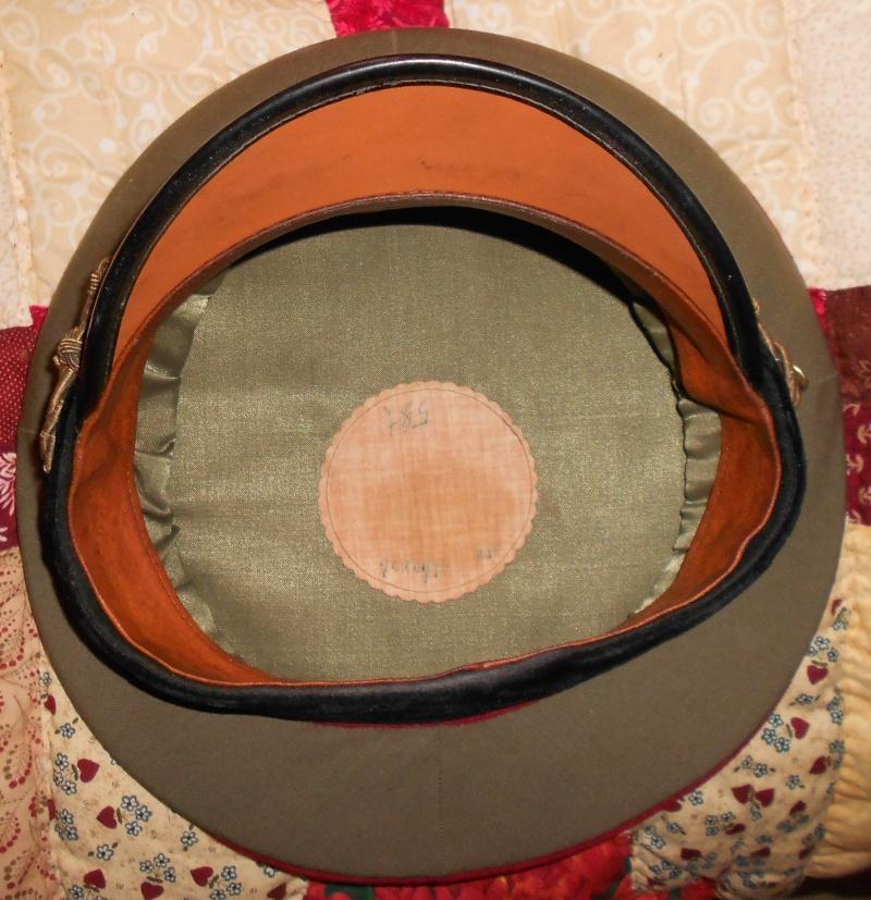 casquette de service generale bulgare Ensemb14