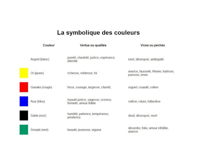 Les couleurs au Moyen Âge Couleu10