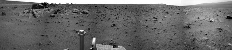 Opportunity et l'exploration du cratère Endeavour - Page 3 Navcam10