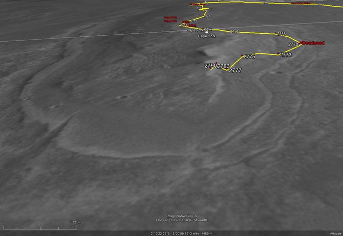 Opportunity et l'exploration du cratère Endeavour - Page 3 Oppy210