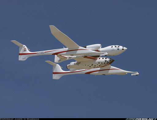 Avion fusée Spaces10