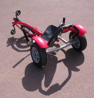 TRiACTION ........ le trike delta à traction directe 3310