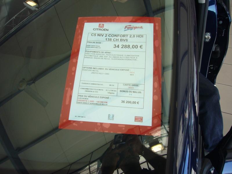 [Photos] La nouvelle Citroën C5 en concession - Page 2 P1030816