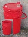 toilettes à littière bio métrisée (-chiottes secs-) 07711