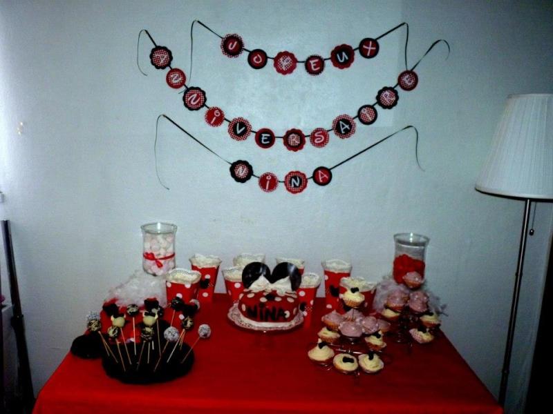 Déco anniversaire thème Minnie 141