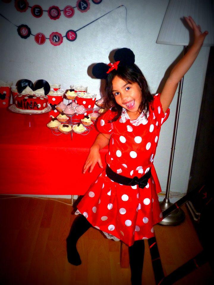 Déco anniversaire thème Minnie 1437