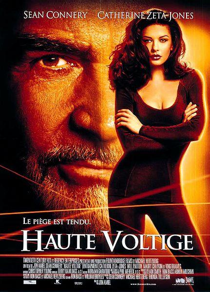 Haute Voltige, avec Sean Connery & Catherine Zeta-Jones (1999) Affich10