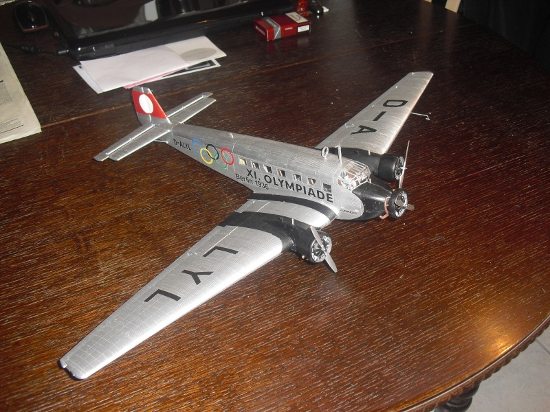 Junkers Ju 52 1/48 revell Cimg2411