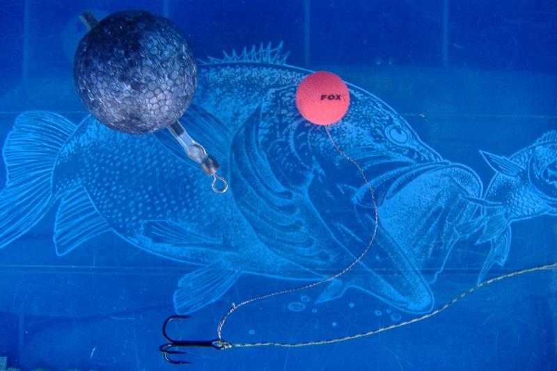 Pêche du bord au vif décollé sur plombée coulissante Dscf0115