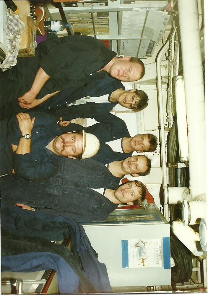Le beau Westhinder quand j'étais à bord Photos12